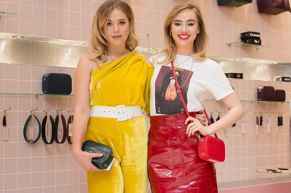 Pop & suki poppy jamie sukie waterhouse interview london selfridges store