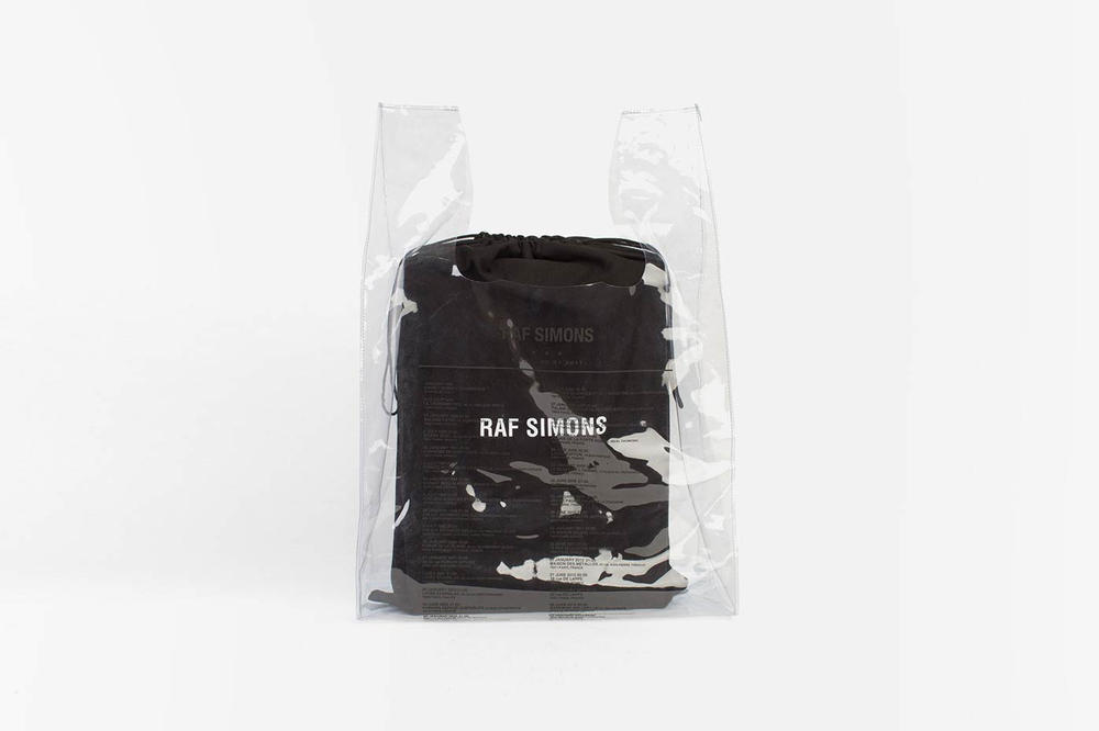 Raf Simons Voo Store Shopping Bag