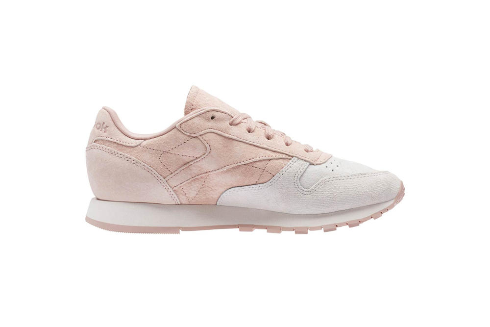 Reebok Classic Leather Pale Pink Quartz Blue