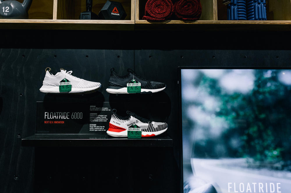 Reebok Floatride 6000 New York City NYC Event Recap