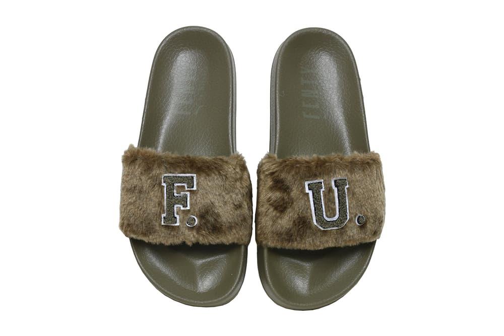 dacc18904b9 Rihanna Fenty PUMA F.U. Fur Slides Burnt Olive Fall Winter 2017 Leadcat