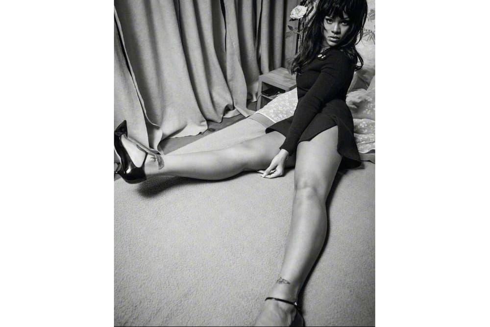 Rihanna Vogue Paris December Christmas Issue Editorial