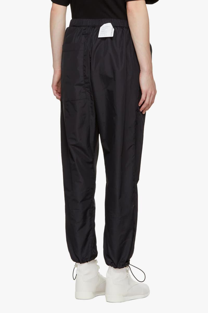 SSENSE Exclusive A-COLD-WALL* Collection Parka Raincoat Socks Hoodie Sweatshirt Hat Black Streetwear