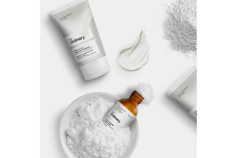 The Ordinary Vitamin C 30% Suspension in Silicone and 100% L-Ascorbic Acid Powder Deciem Makeup