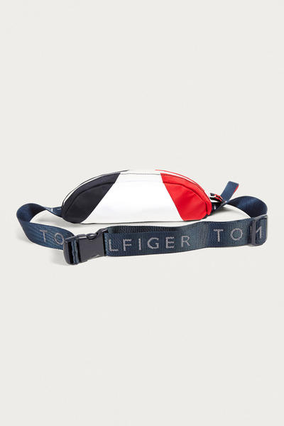 Tommy Hilfiger Retro Colour Blocked Logo Bum Bag