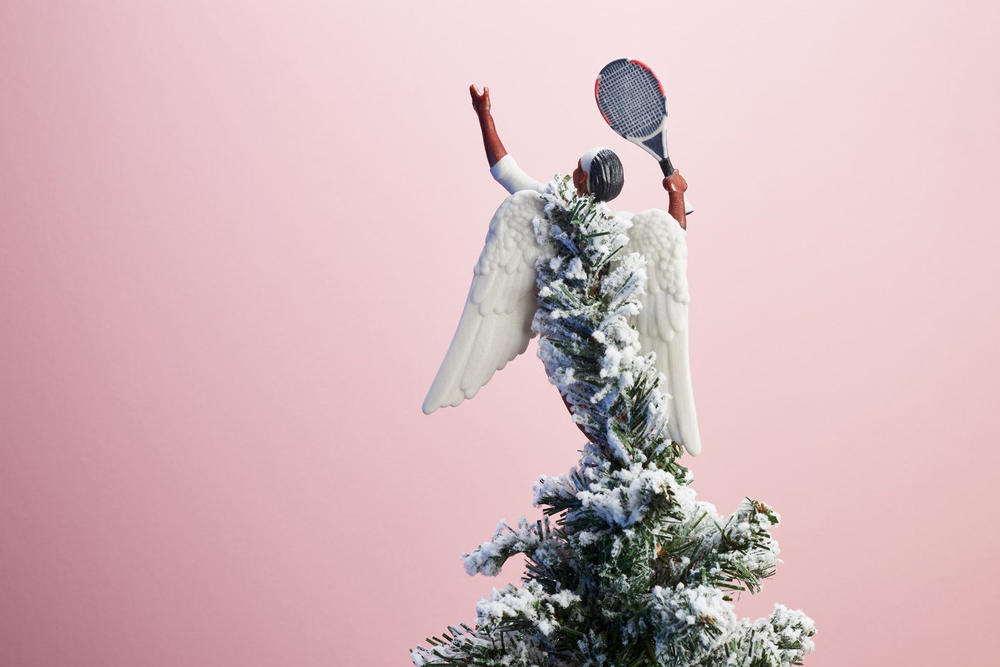 Serena Williams Beyoncé Hillary Clinton Christmas Tree Topper Holiday Cheer Women to Look Up To Feminist Woman Power