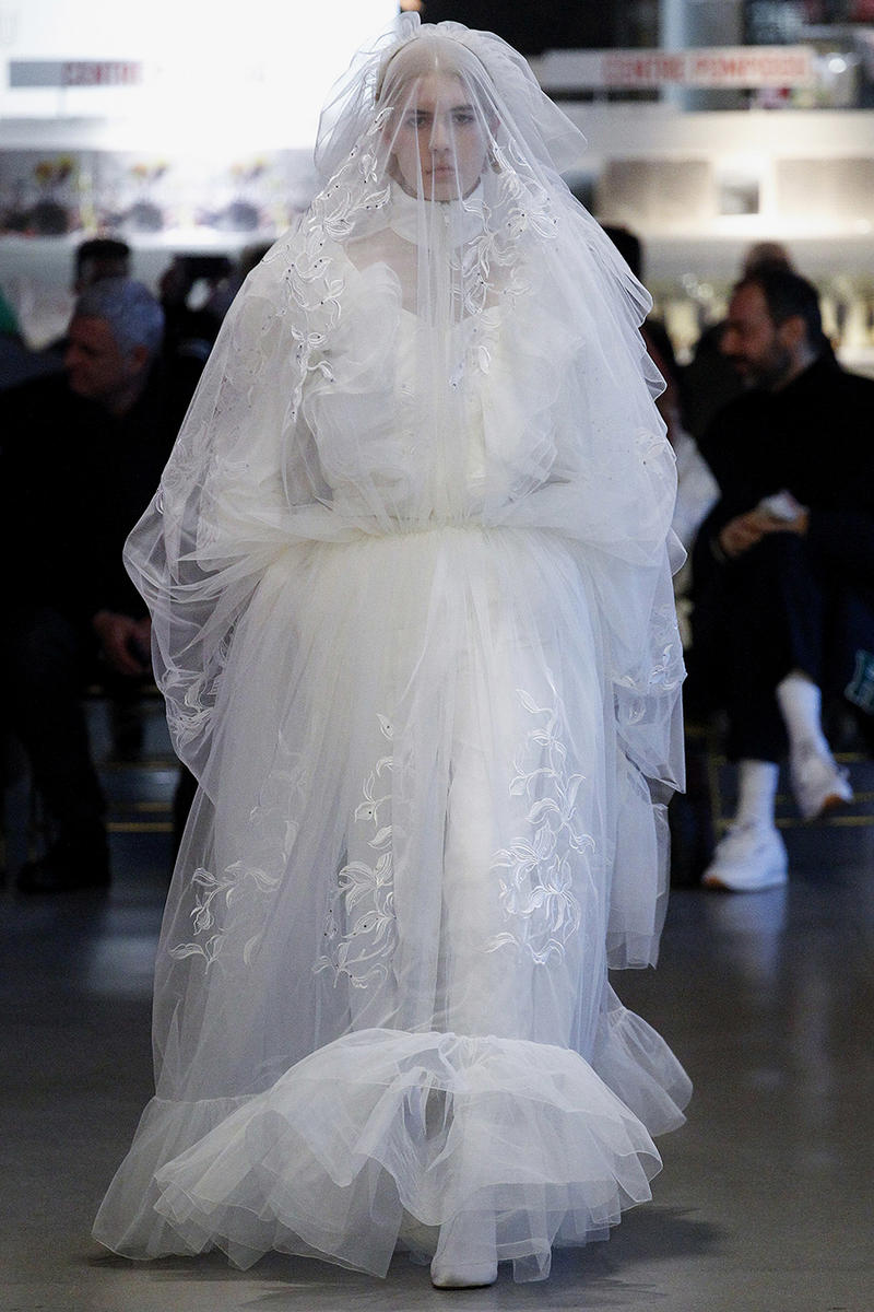 Vetements Demna Gvasalia Bride Tracksuit Wedding
