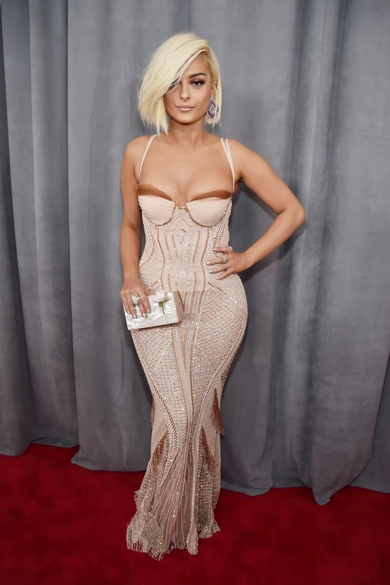 Grammys 2018 Best Red Carpet Looks Fashion Gowns Cardi B SZA Pink Lady Gaga Lana Del Rey Alessia Cara