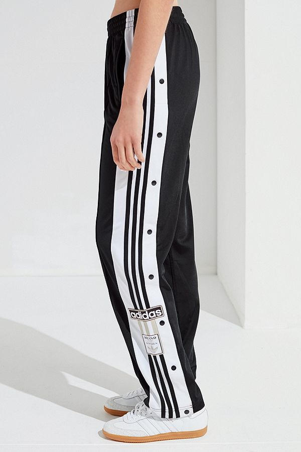 adidas Originals Tearaway Track Pants Black White Red Sporty Retro Chic Urban Outfitters