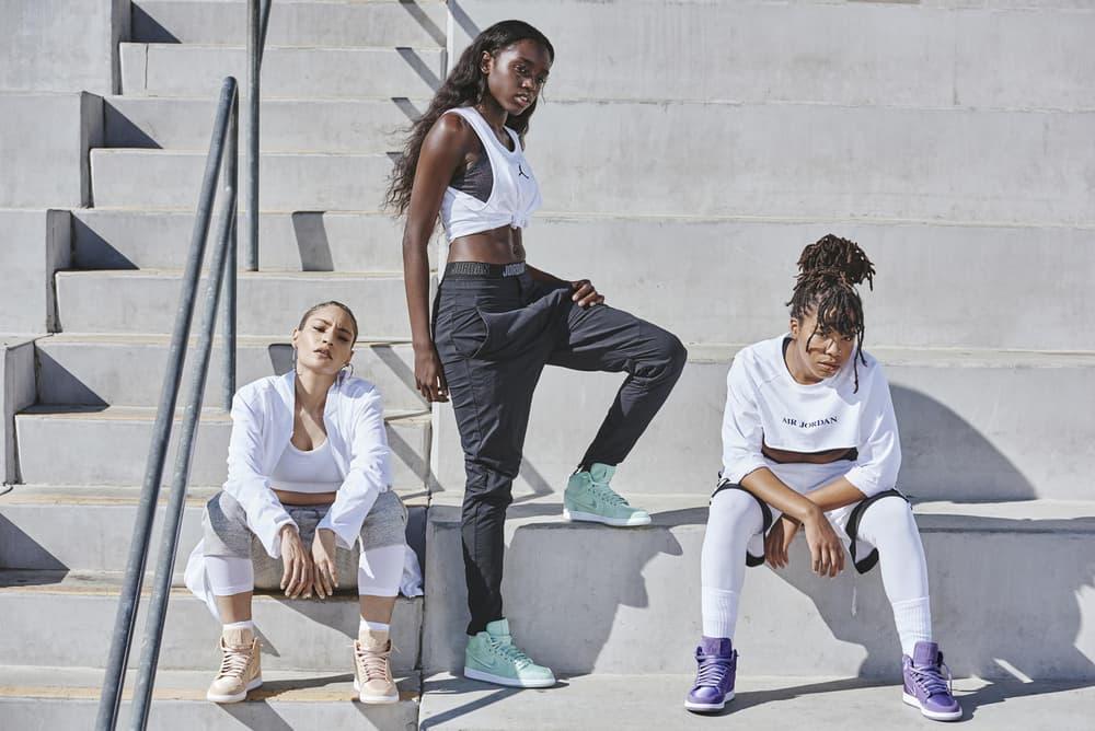 Nike Air Jordan 1 Air Jordan 12 Low Basketball Womens Exclusive Spring 2018 AJ 1 Jordan Brand Sneaker Rainbow