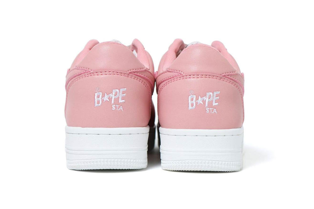 A Bathing Ape BAPE STA Low Pink