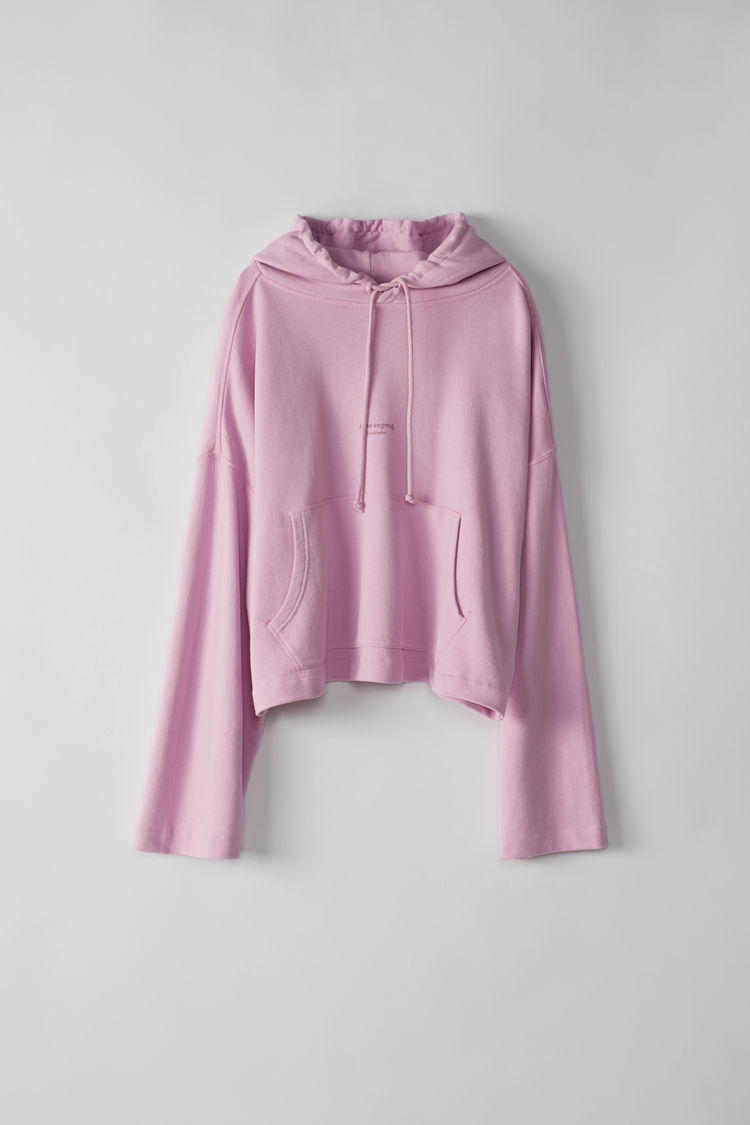 acne studios oversized joghy hoodie womens sweatshirt hooded candy pastel pink black