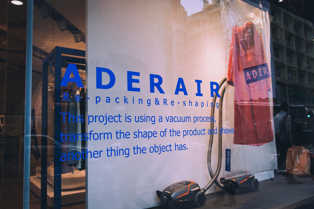 Ader Error Korea Seoul Fashion Design Collective IT Hong Kong Pop Up