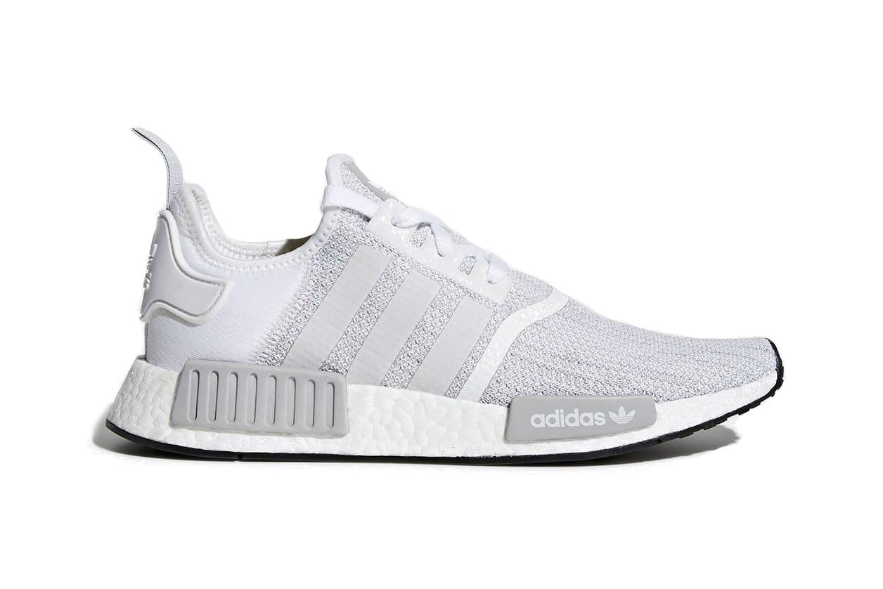 adidas NMD R1 White/Grey \