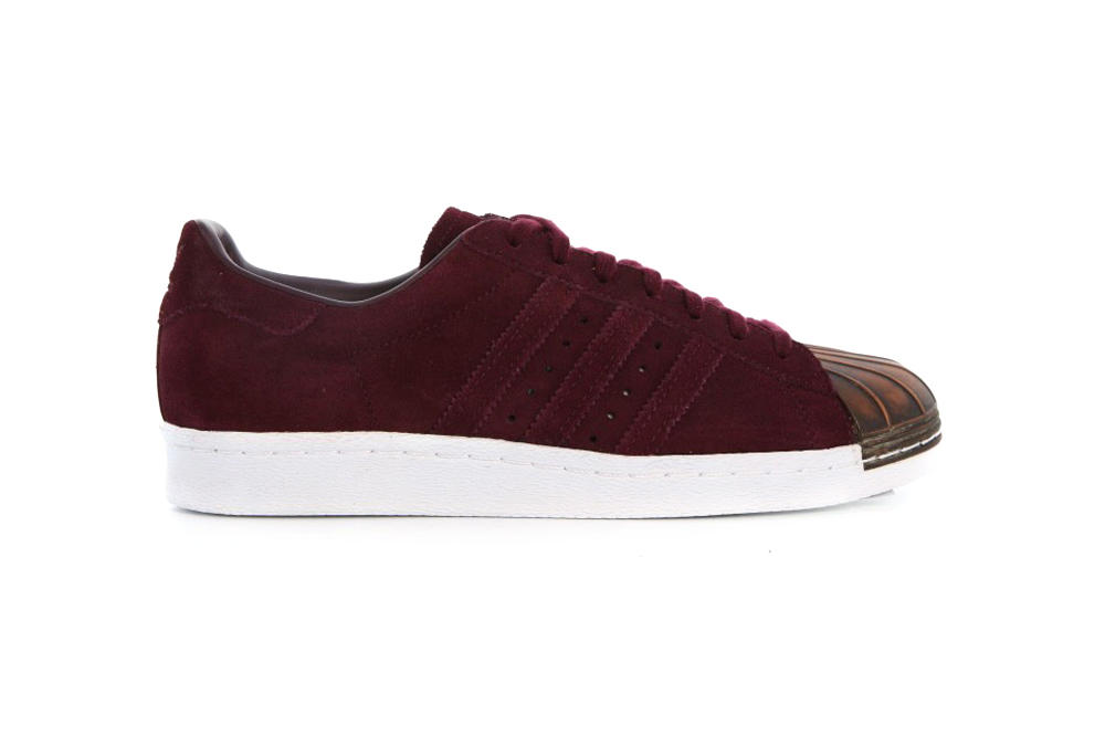 adidas Originals Superstar 80s Maroon Night Cargo
