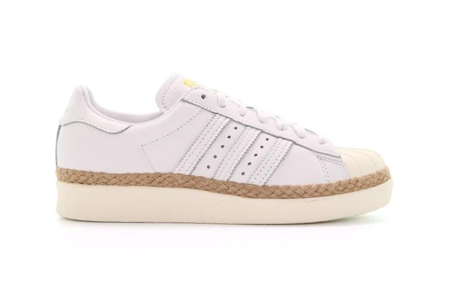 big sale ad020 6cb98 adidas originals superstar 80s new bold off white espadrille platform  sneakers