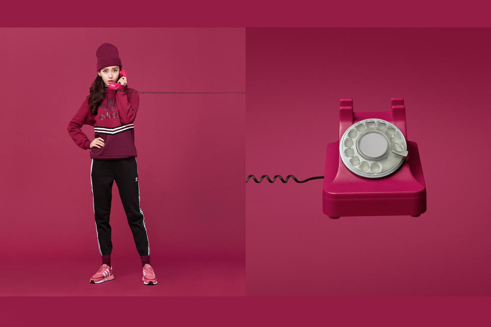 adidas Originals Spring Summer 2018 adicolor series collection Fan Bingbing kiko mizuhara angelababy