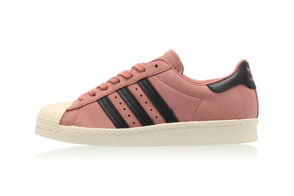adidas Originals Superstar 80s Ash Pink Core Black