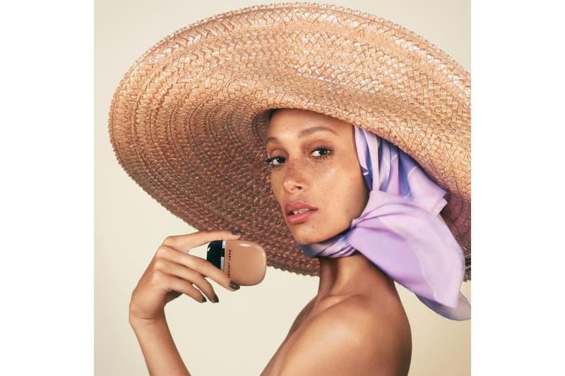 """Adwoa Aboah Marc Jacobs Beauty """"Shameless"""" Foundation Makeup Ad Campaign"""