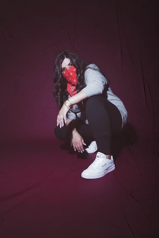 Gigi Hadid Ariana Gradne Teyana Taylor Reebok Classic Campaign Lil Yachty Shoes Sneaker Sharina Gutierrez Sany Somi