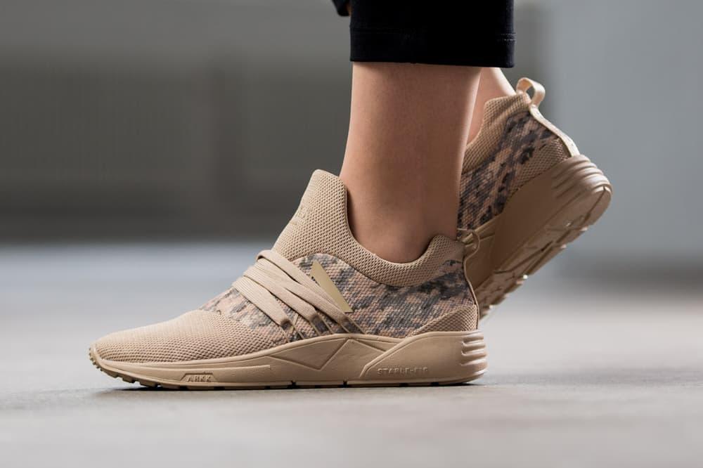 ARKK copenhagen independent sneaker brand danish womens unisex camouflage desert camo