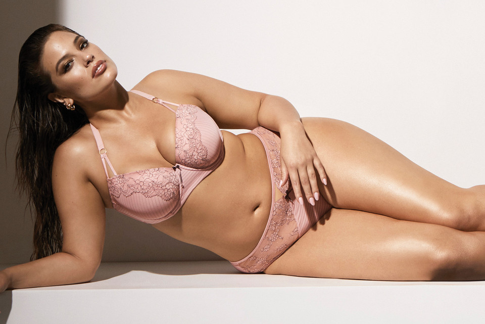 Ashley Graham s New Lingerie Collection Is Body-Inclusive and Effortlessly  Sexy 23807f357