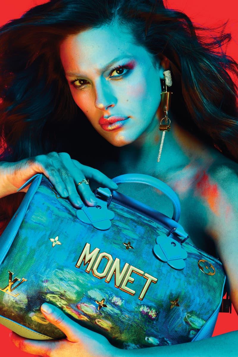 Ashley Graham Colorful V Magazine Photoshoot Fendi Louis Vuitton Editorial Makeup