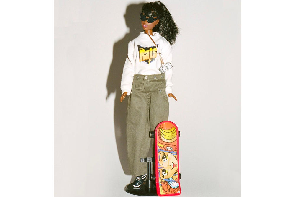 Ava Nirui Stray Rats Custom Streetwear Barbie Limited Edition Helmut Lang Collection