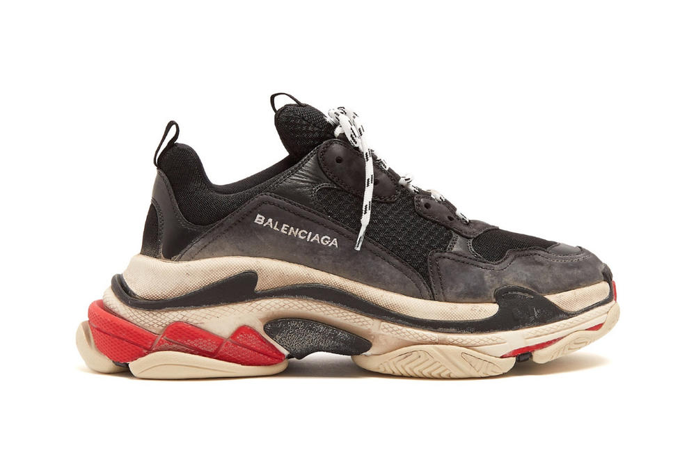 Balenciaga Triple S Sneaker Restock Where to Get Shoe Chunky Silhouette Dad Shoe Demna Gvasalia