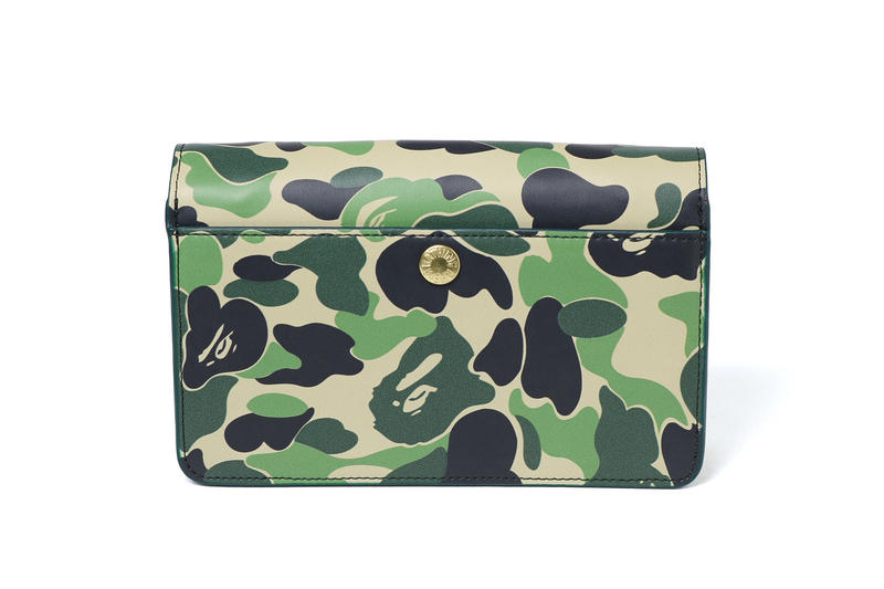 BAPE A Bathing Ape Camouflage Camo Shoulder Bag Print Purse Streetwear Staple Womens Street Style