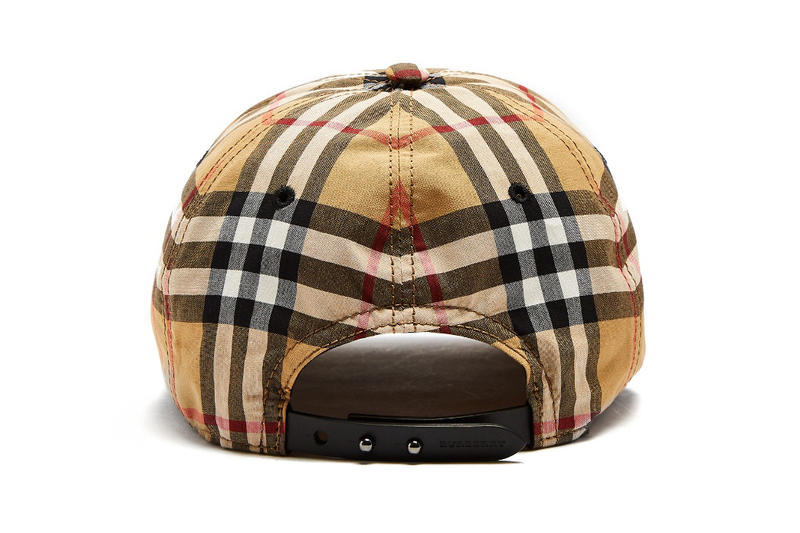burberry checked checkered plaid tartan house check baseball cap where to buy