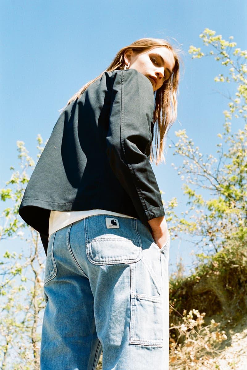 Carhartt WIP Spring/Summer 2018 Lookbook Black Jacket