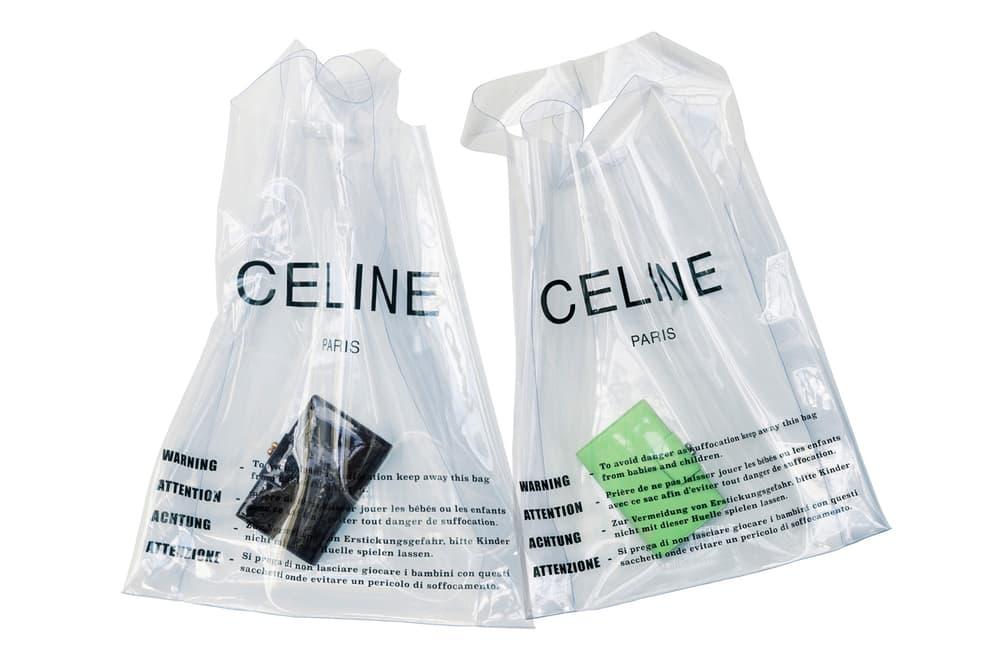 Celine Plastic Shopping Bag Summer 2018 Phoebe Philo Lambskin Purse Set Wallet Tote