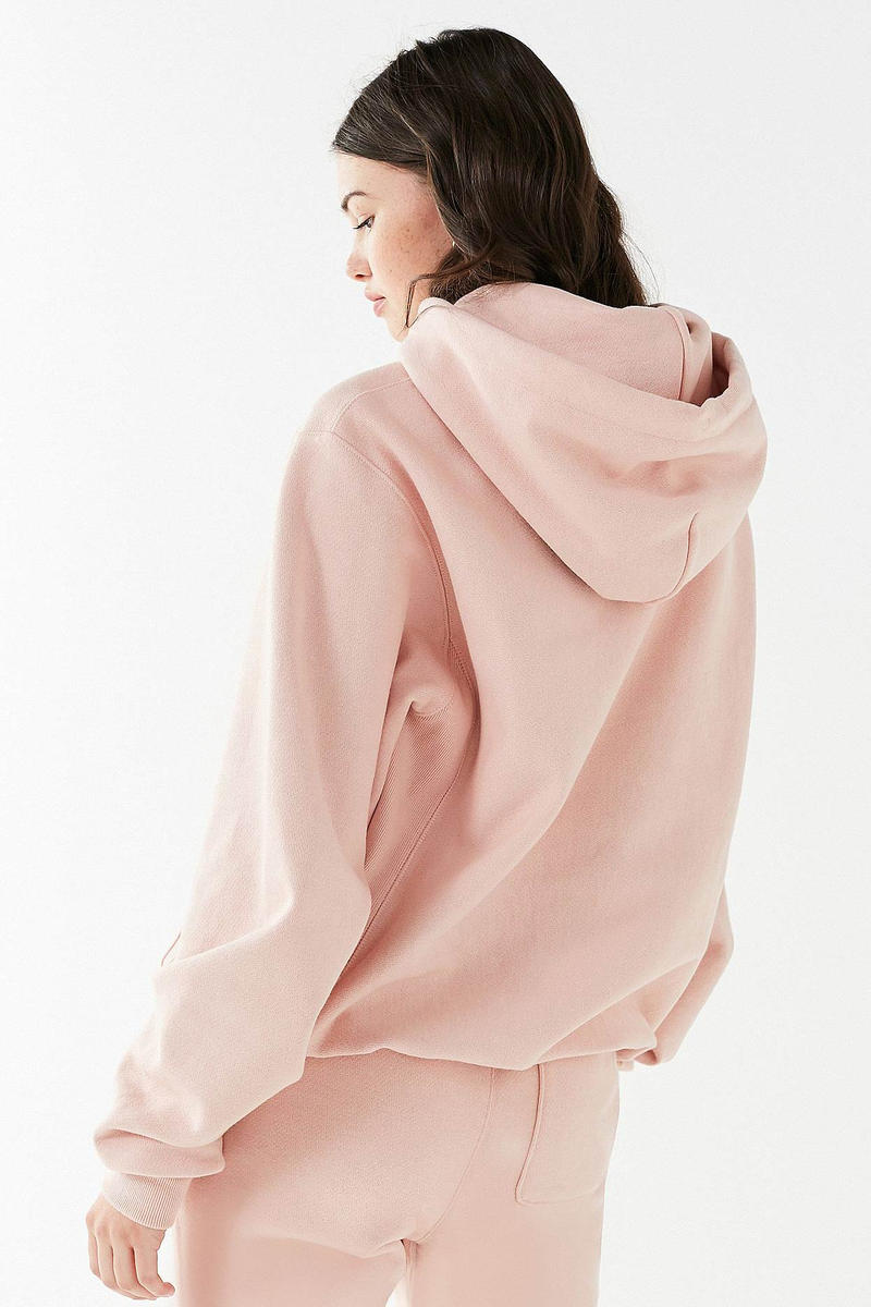 Champion Urban Outfitters Novelty Graphic Hoodie Pink
