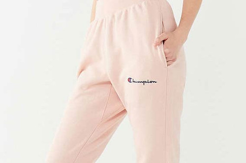 d7fd0ad1cf1e Champion x Urban Outfitters Stock up on New Sweatpants, Including Peachy  Nude