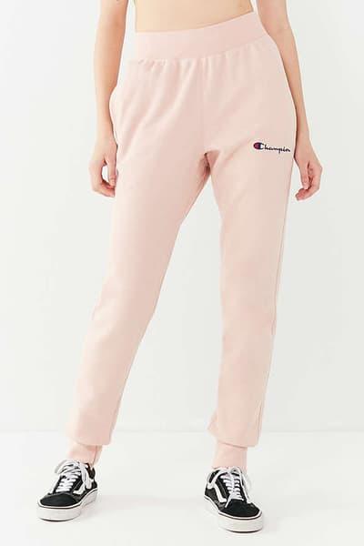 Champion x Urban Outfitters Reverse Weave Jogger Pant Pink Khaki