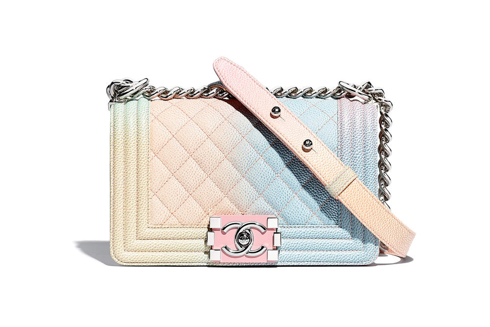 Chanel Boy Bag Spring Summer 2018 Pre Collection Pastel