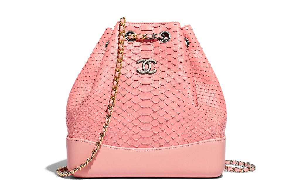 Chanel Gabrielle Backpack Pink Bag Spring Summer 2018 Pre Collection Pastel
