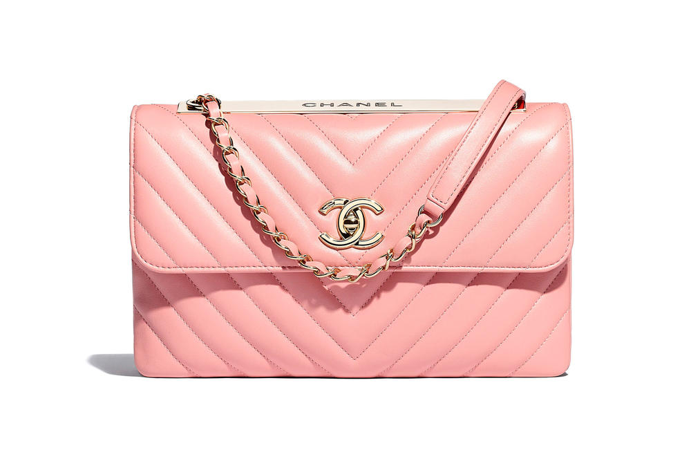 Chanel Flap Bag Spring Summer 2018 Pre Collection Pastel Pink