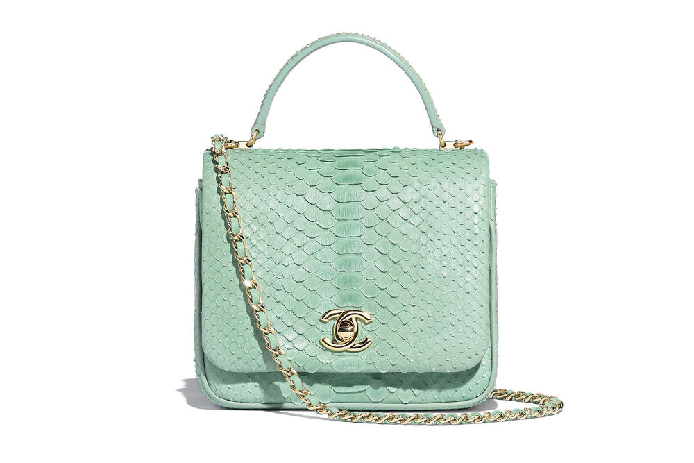 Chanel Flap Bag Spring Summer 2018 Pre Collection Pastel Green Handle