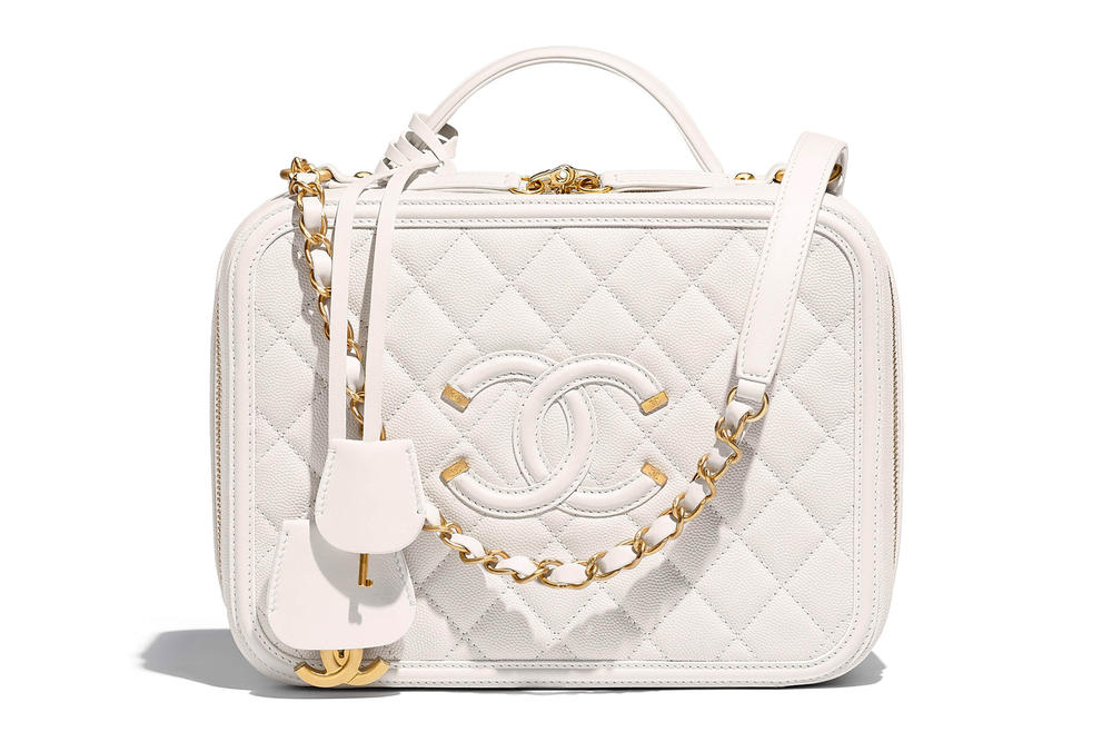 Chanel Vanity Case Bag Spring Summer 2018 Pre Collection White