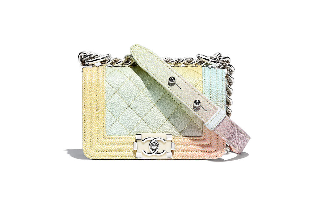 Chanel Boy Bag Spring Summer 2018 Pre Collection Pastel Mini