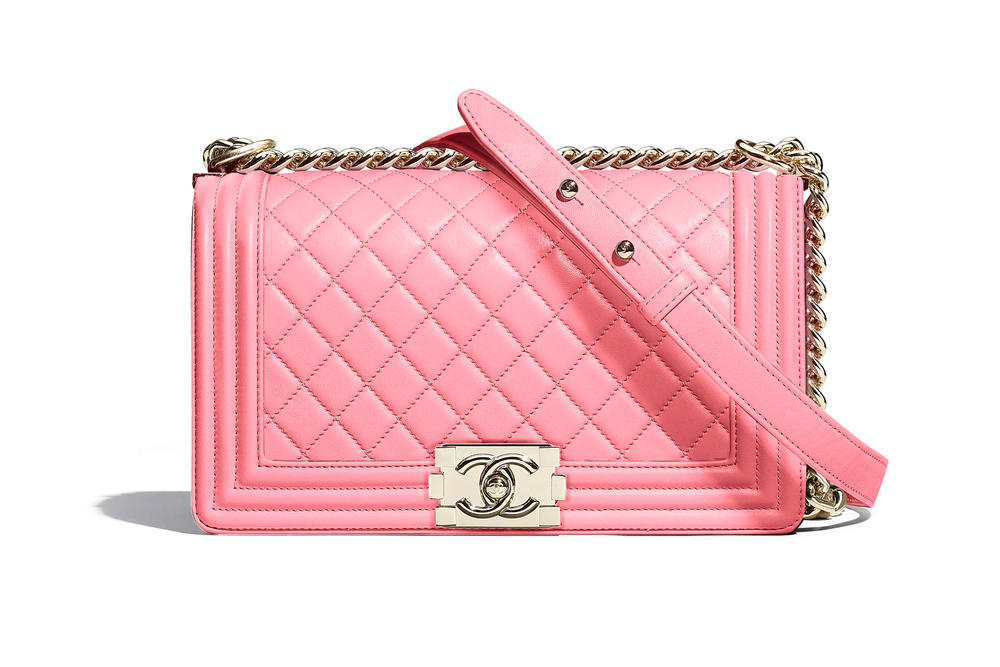Chanel Boy Bag Spring Summer 2018 Pre Collection Pink