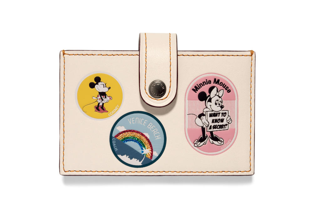 Coach Minnie Mouse Limited Edition Collection Handbags Accessories Disney Mickey Mouse Hollywood Walk of Fame