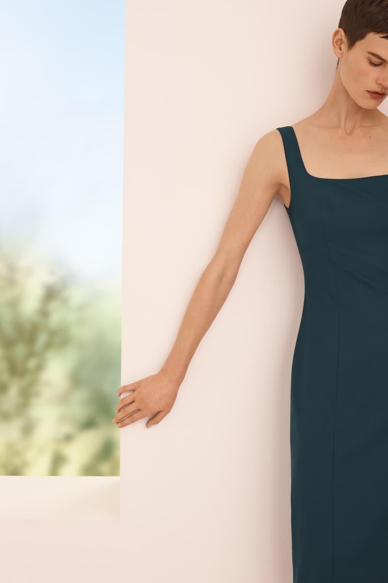 COS Spring/Summer 2018 Campaign Dark Blue Dress