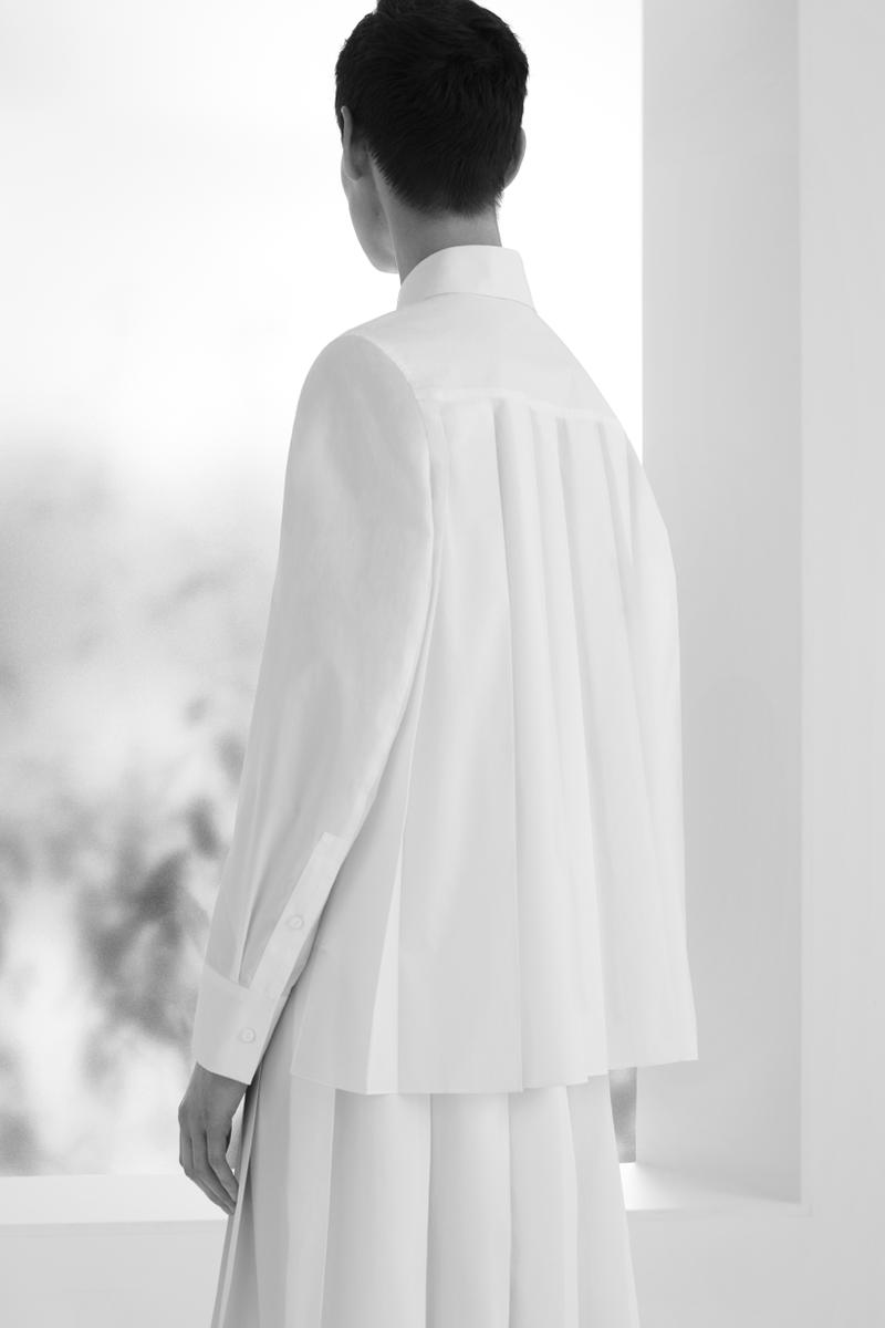 COS Spring/Summer 2018 Campaign White Top Back View