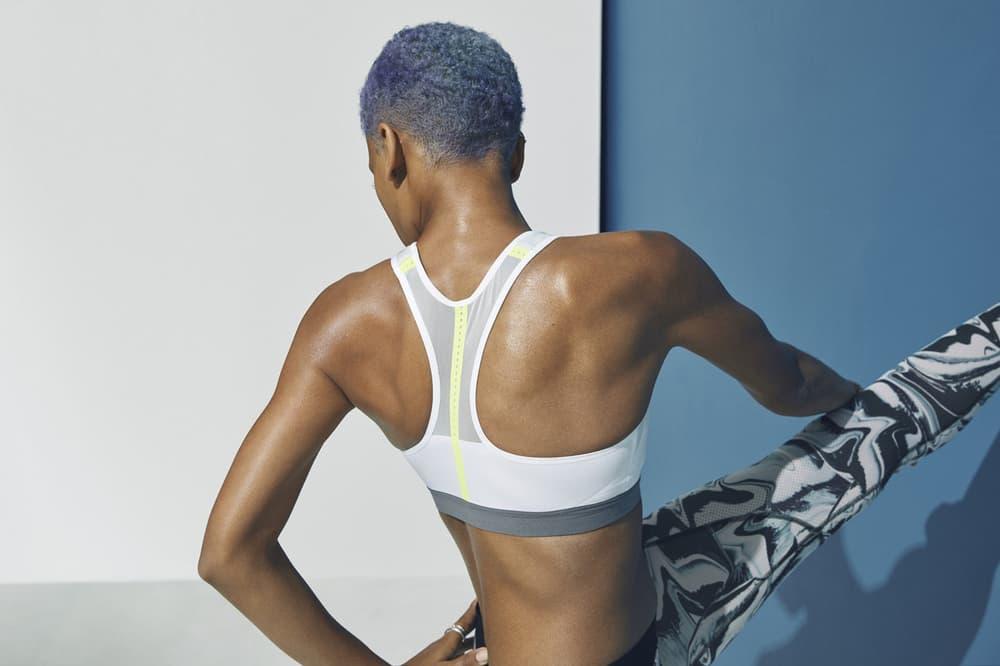 Nike Motion Adapt Sports Bra White