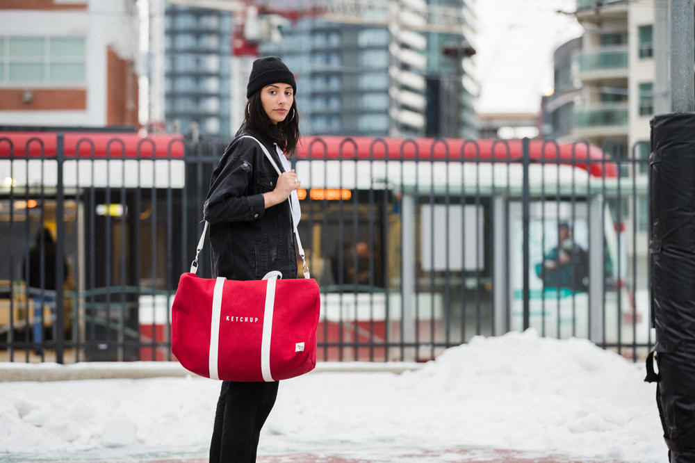 Doritos Canada Capsule Collection Red Duffle Bag