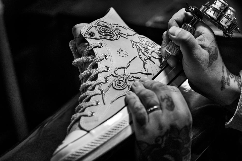 Converse x Dr. Woo Collaboration Chuck 70 White