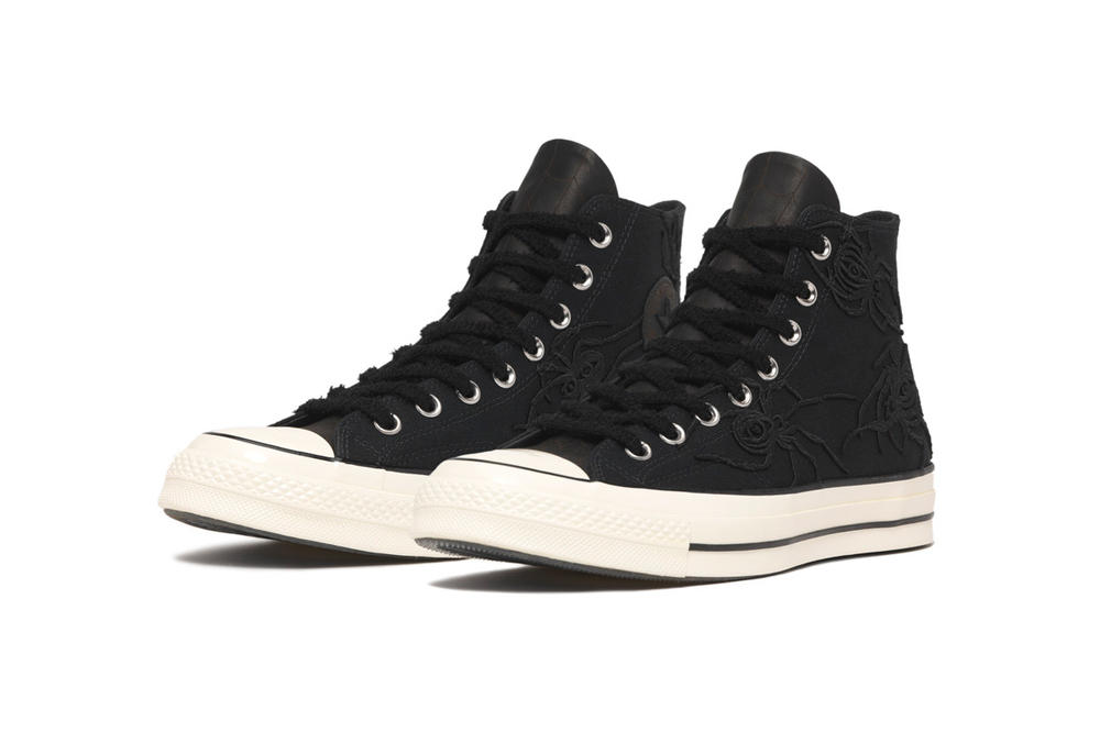 Converse Dr. Woo Collaboration Chuck 70 Black White Tattoo Artist